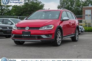 Used 2018 Volkswagen Golf 2018 Volkswagen Golf Alltrack | 1.8 TSI for sale in Pickering, ON