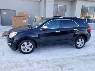 Used 2015 Chevrolet Equinox LTZ; ACTIVE CRUISE CONTROL, POWER SUNROOF, BLUETOOTH, LEATHER AND MORE for sale in Edmonton, AB