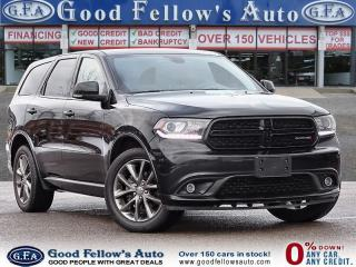 Used 2017 Dodge Durango GT MODEL, SUNROOF, AWD, 7PASSENGER, LEATHER SEATS for sale in Toronto, ON