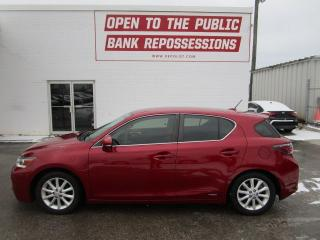 Used 2013 Lexus CT 200h HATCHBACK CT200H for sale in Toronto, ON