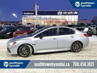Used 2016 Subaru WRX STI w/SPORT TECH/AWD/NAV/SUNROOF/LEATHER for sale in Edmonton, AB