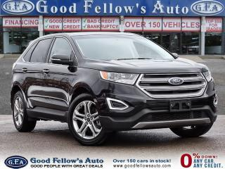 Used 2017 Ford Edge TITANIUM, AWD, LEATHER SEATS, REARVIEW CAMERA for sale in Toronto, ON