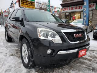 Used 2011 GMC Acadia SLE2 - Fully Loaded-Back Camera - Alloy Rims for sale in Scarborough, ON