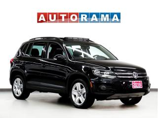 Used 2016 Volkswagen Tiguan COMFORTLINE LEATHER PANORAMIC SUNROOF AWD for sale in Toronto, ON