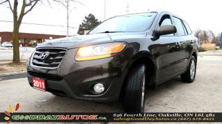 Used 2011 Hyundai Santa Fe GL Sport AWD|ALLOYS|SUNROOF|CERTIFIED|NO ACCIDENT for sale in Oakville, ON