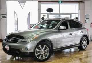Used 2008 Infiniti EX35 LUXURY - NAVIGATION|BACKUP CAM|SUNROOF for sale in North York, ON