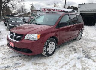 Used 2011 Dodge Grand Caravan Certified/Stow'N'Go/DVD/7 Passsenger/Accident Free for sale in Scarborough, ON