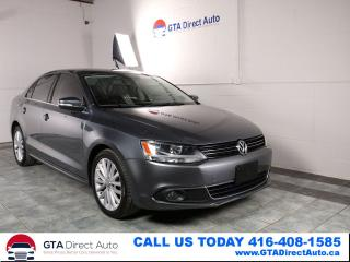 Used 2012 Volkswagen Jetta HIGHLINE TDI NAV Sunroof Leather 6-Speed Certified for sale in Toronto, ON