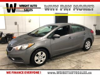 Used 2015 Kia Forte LX BLUETOOTH AIR CONDITIONING 80,286 KM for sale in Cambridge, ON