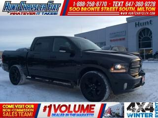 Used 2017 RAM 1500 SPORT/CREW/4X4/BLACKOUT/GOLD PLAN!!! for sale in Milton, ON