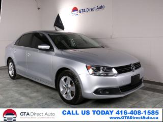 Used 2012 Volkswagen Jetta Comfortline TDI Touchscreen 6Speed Alloy Certified for sale in Toronto, ON