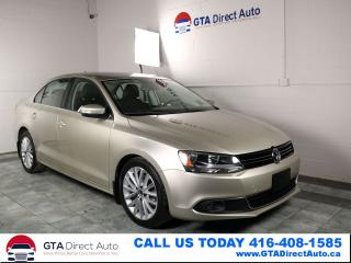 Used 2012 Volkswagen Jetta HIGHLINE NAV Sunroof FenderSound Leather Certified for sale in Toronto, ON
