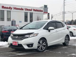 Used 2015 Honda Fit EX-L | Navigation | Alloys | Rear Camera for sale in Mississauga, ON
