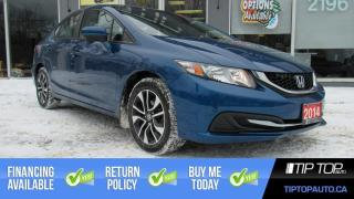 Used 2014 Honda Civic EX ** New Brakes, Sunroof, Blindspot Camera ** for sale in Bowmanville, ON