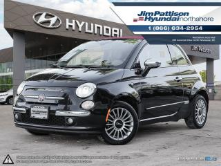 Used 2013 Fiat 500 C Lounge Convertible for sale in North Vancouver, BC