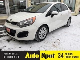 Used 2015 Kia Rio EX w/Sunroof/PRICED-QUICK SALE! for sale in Kitchener, ON