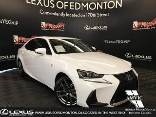 Used 2017 Lexus IS 300 F SPORT SERIES 2 for sale in Edmonton, AB