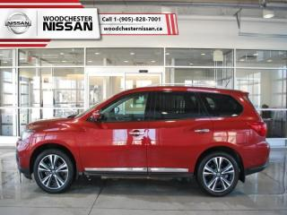Used 2017 Nissan Pathfinder Platinum  - $243.30 B/W for sale in Mississauga, ON