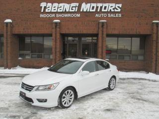 Used 2015 Honda Accord TOURING | NO ACCIDENT | NAVIGATION | LEATHER | SUNROOF | CAM for sale in Mississauga, ON