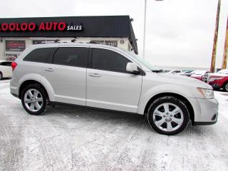 Used 2012 Dodge Journey SXT DVD PACKAGE BLUETOOTH CERTIFIED 2YR WARRANTY for sale in Milton, ON