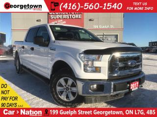 Used 2017 Ford F-150 XLT | CREW CAB | 4X4 | 5.0L V8 | BACK UP CAM for sale in Georgetown, ON