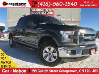 Used 2015 Ford F-150 XLT | CREW | 4X4 | 2.7L V6 | LOW KM | CAMERA | for sale in Georgetown, ON