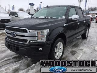 New 2019 Ford F-150 Platinum   - Sunroof for sale in Woodstock, ON