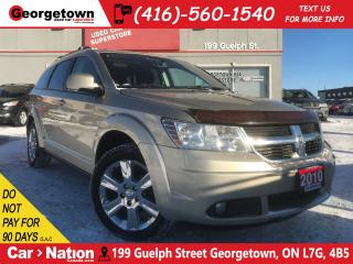 Used 2010 Dodge Journey SXT | SUNROOF | DUAL/REAR AIR | PWR/HTD SEAT | for sale in Georgetown, ON