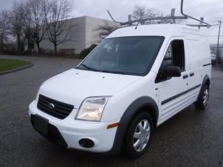 Used 2012 Ford Transit Connect XLT Cargo Van with Shelving and Ladder Rack for sale in Burnaby, BC