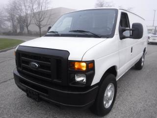 Used 2011 Ford Econoline E-250 Cargo Van with Rear Shelving and Bulkhead Divider for sale in Burnaby, BC
