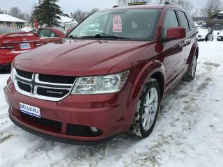 Used 2011 Dodge Journey R/T-7 PASSAGERS-CUIR for sale in Québec, QC