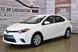 Used 2017 Toyota Corolla LE CAMERA for sale in Laval, QC