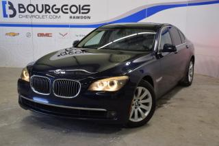 Used 2011 BMW 7 Series Xdrive, Navigation for sale in Rawdon, QC
