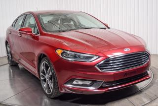 Used 2017 Ford Fusion Titanium Awd Cuir for sale in St-Constant, QC