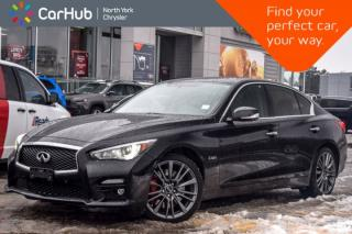 Used 2017 Infiniti Q50 3.0t Red Sport 400|Sunroof|Backup_Cam|Nav|SiriusXM for sale in Thornhill, ON
