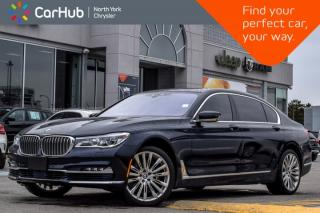 Used 2016 BMW 7 Series 750Li xDrive|AWD|Pano_Sunroof|Nav|Backup Cam|Keyless_Entry|20