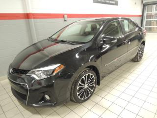 Used 2015 Toyota Corolla S/aut/a/c/cruise/t.o for sale in Terrebonne, QC