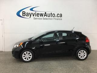 Used 2015 Kia Rio LX+ - A/C! CRUISE! BLUETOOTH! HTD SEATS! PWR GROUP! for sale in Belleville, ON