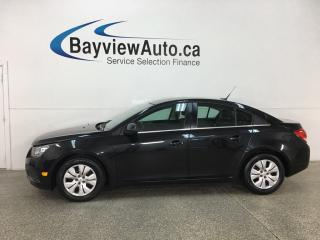Used 2014 Chevrolet Cruze 1LT - ONSTAR! BLUETOOTH! A/C! CRUISE! BUDGET BUDDY! for sale in Belleville, ON