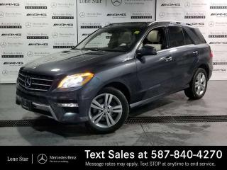 Used 2013 Mercedes-Benz ML 350 BlueTEC 4MATIC for sale in Calgary, AB