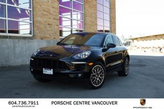 Used 2016 Porsche Macan S | PORSCHE CERTIFIED for sale in Vancouver, BC