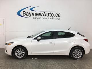 Used 2017 Mazda MAZDA3 GS - NAV! REVERSE CAM! BLUETOOTH! HTD SEATS! ALLOYS! for sale in Belleville, ON