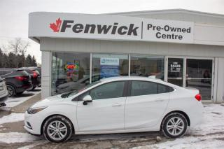 Used 2017 Chevrolet Cruze LT - 6AT for sale in Sarnia, ON