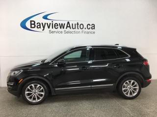 Used 2015 Lincoln MKC - AWD! HTD LTHR! REMOTE START! REVERSE CAM! SYNC! PANOROOF! ALLOYS! for sale in Belleville, ON