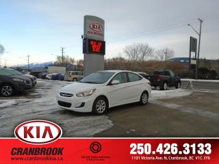 Used 2013 Hyundai Accent GL for sale in Cranbrook, BC