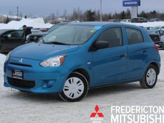 Used 2015 Mitsubishi Mirage ES ONLY $45/WK TAX INC. $0 DOWN | WARRANTY TO 2025 for sale in Fredericton, NB