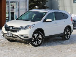 Used 2016 Honda CR-V Touring AWD | HEATED LEATHER | NAV | BACK UP CAM | SUNROOF for sale in Fredericton, NB