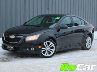 Used 2014 Chevrolet Cruze 2LT RS | LEATHER | SUNROOF for sale in Fredericton, NB