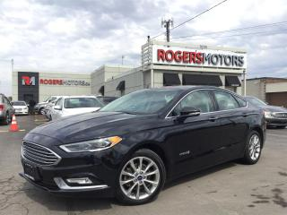 Used 2017 Ford Fusion Hybrid SE - LEATHER - REVERSE CAM - HTD SEATS for sale in Oakville, ON