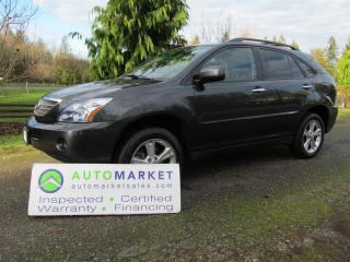 Used 2008 Lexus RX 400h AWD PREMIUM, INSP, FREE BCAA MBSHP, FREE WARRANTY, FINANCE for sale in Surrey, BC